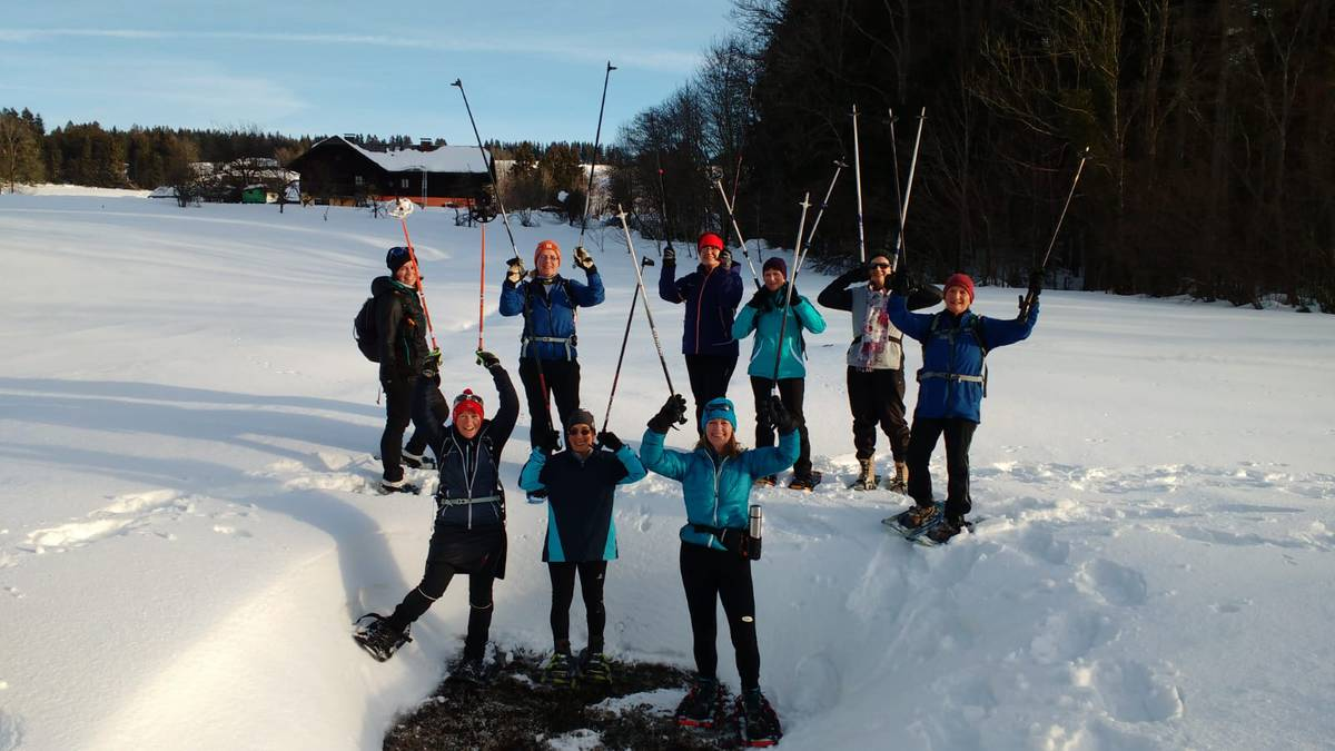 Schneeschuhwandern Thalgauberg