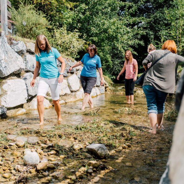 Kneipp Tipp – Wassertreten